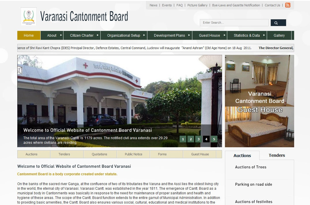 cbvaranasi-IMG Cantonment Board, Varanasi - InfoMark GLOBAL - Website design in Varanasi