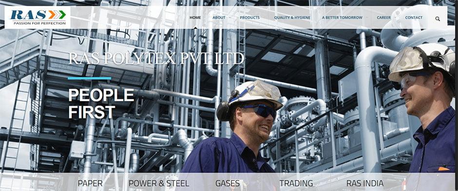 RAS-Polytex-PVT-LTD RAS Polytex Pvt. Ltd. - InfoMark GLOBAL - Website design in Varanasi