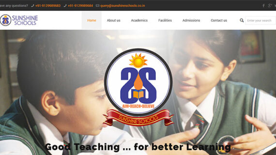Sunshine-Schools-570x321 Experience - InfoMark GLOBAL - Website design in Varanasi