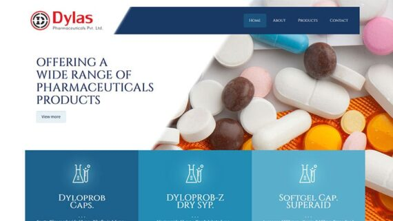 Dylas-Pharmaceuticals-Pvt.-Ltd-570x321 Experience - InfoMark GLOBAL - Website design in Varanasi