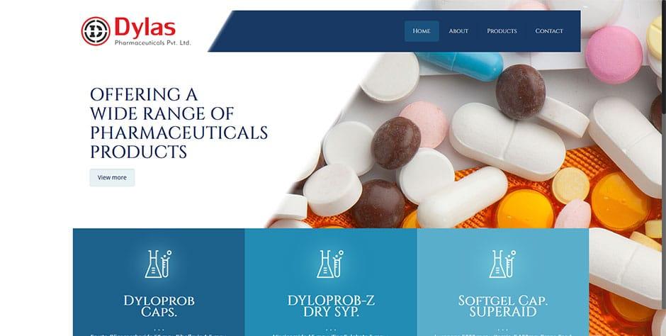 Dylas-Pharmaceuticals-Pvt.-Ltd Dylas Pharmaceuticals Pvt. Ltd., New Delhi - InfoMark GLOBAL - Website design in Varanasi