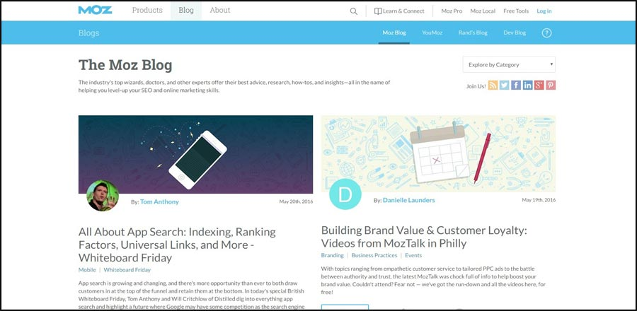 IMG-Moz 15 Best Digital Marketing Blogs to update your knowledge about Online Marketing in 2016 - InfoMark GLOBAL - Website design in Varanasi